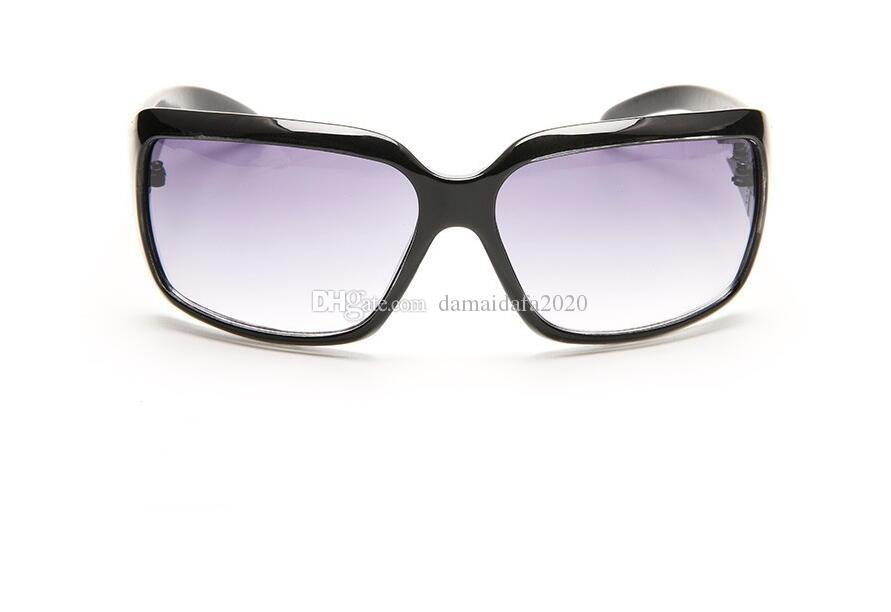 Moda yeni yüksek kalite uv kutusu erkekler ve bayan modelleri tam kare tasarımcı sürücü güneş gözlüğü kutusu ile hızlı teslimat aksesuarları