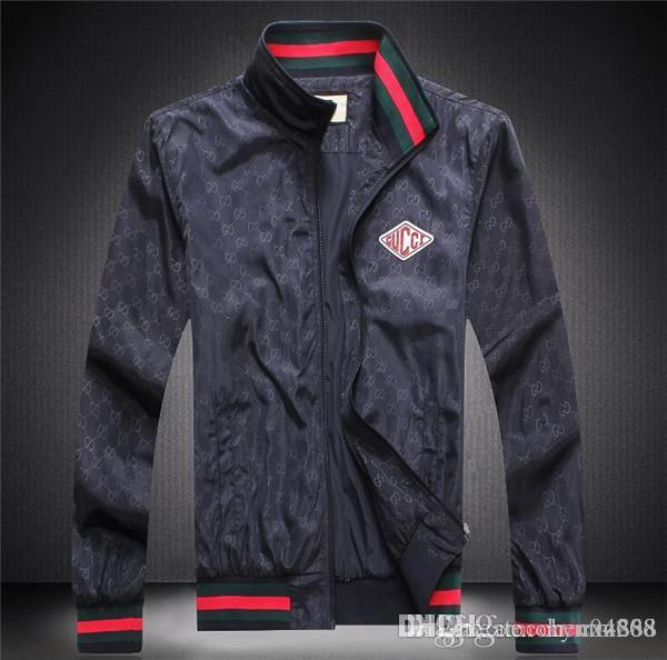 erkek giyim parti için sonbahar ve kış, lüks moda hattı için yeni yüksek kaliteli Avrupa ceket, BOYUT M ~ 3XL # 1039