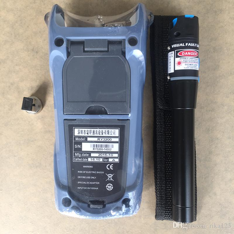 2 in 1 Glasfaser FTTH-Tool 5KM Sichtstörungs-Verzeichnis und RY3200B optische Leistungsmesser -50 ~ + 26dBm SC / FC RY3200B OPM
