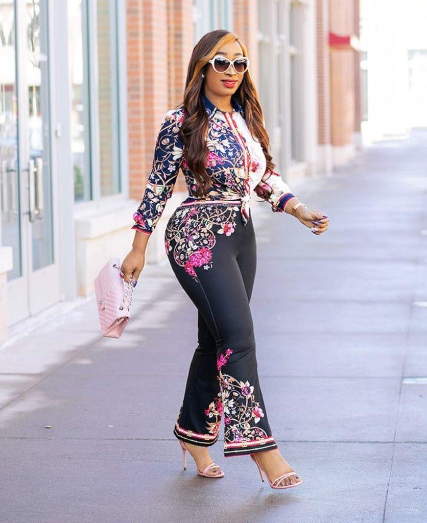 Оптовая моды Streetwear женщин 2 шт нарядах марочные печати топы и длинные брюки костюм леди две части костюм LJ1767