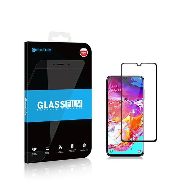 2 шт mocolo 0.33 мм 9H 2.5 D полный клей закаленное стекло пленка для Galaxy A70