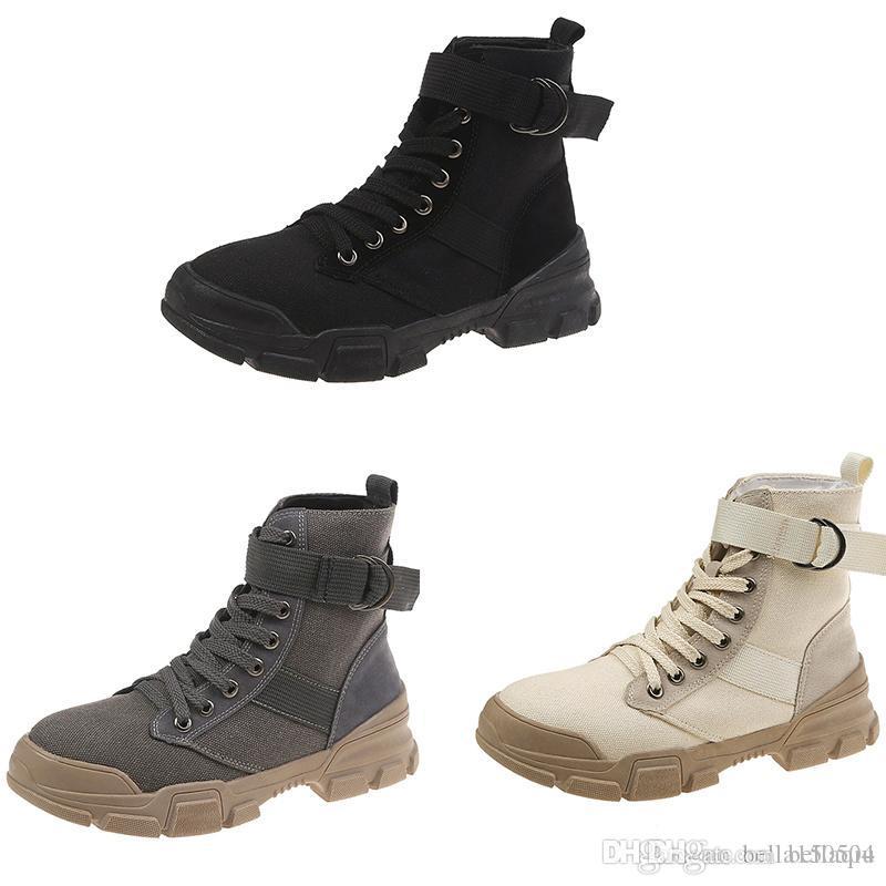 Новые дизайнерские ботинки Martin Desert Boot flamingos Love arrow медаль пряжка ремня натуральная кожа грубая зима черный серый бежевый Повседневная обувь