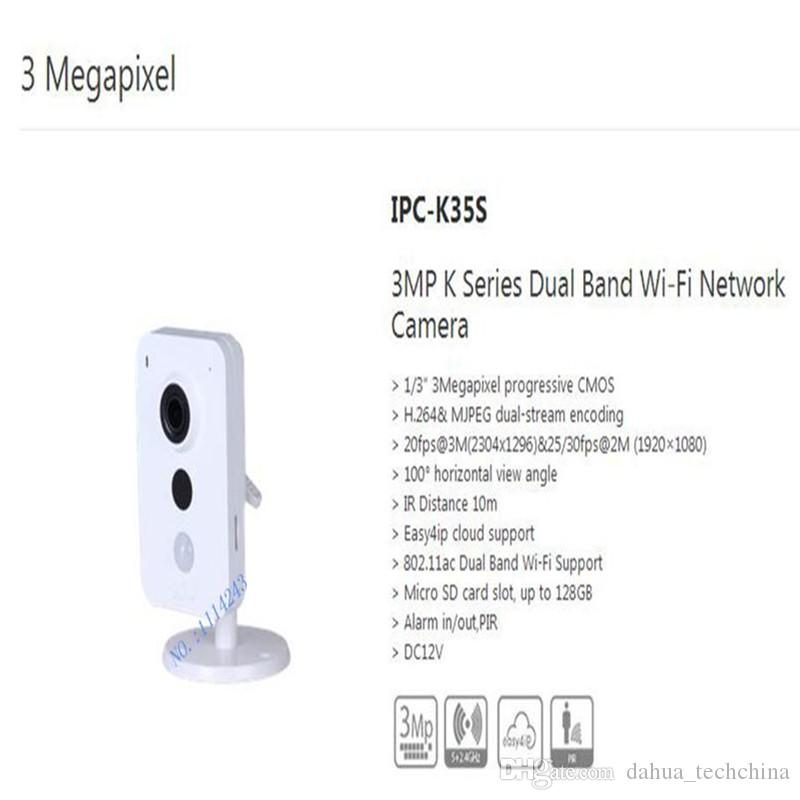 Free Shipping Security WIFI Camera CCTV 3MP K Series Dual Band Wi-Fi Network Camera without Logo IPC-K35S