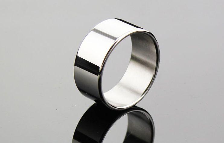 3 크기 남근 클램프 수탉 지연 반지 스테인레스 스틸 순결 루프 남성 금속 페티쉬 지연 사정 성인 섹스 토이
