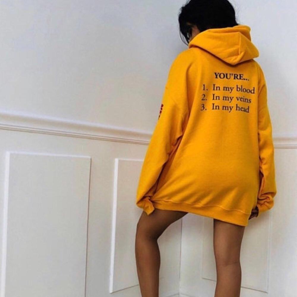 2019 같은 투어 Merchood Hoodie 남성 여성 Cabello Hoodies 스웨터 힙합 옐로우 스웨터 양털 따뜻한 hoody