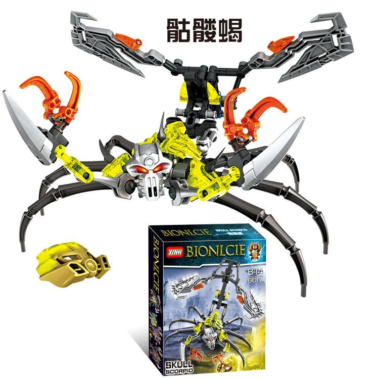 Skeleton Scorpio 70794 Warrior BIONICLE Assembles Building Blocks for Children and Boys Toys