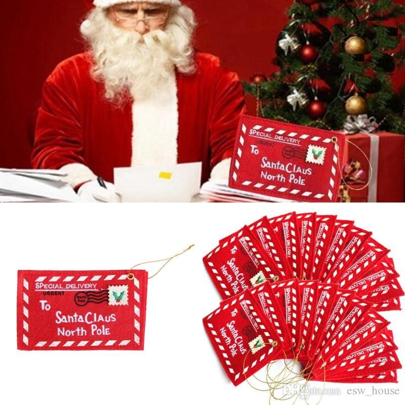 حامل عيد الميلاد مغلف قلادة شجرة عيد الميلاد اكسسوارات بطاقة هدية علبة هدية بطاقة كاندي حامل مع مغلفات هدية عيد الميلاد الصغيرة حقائب