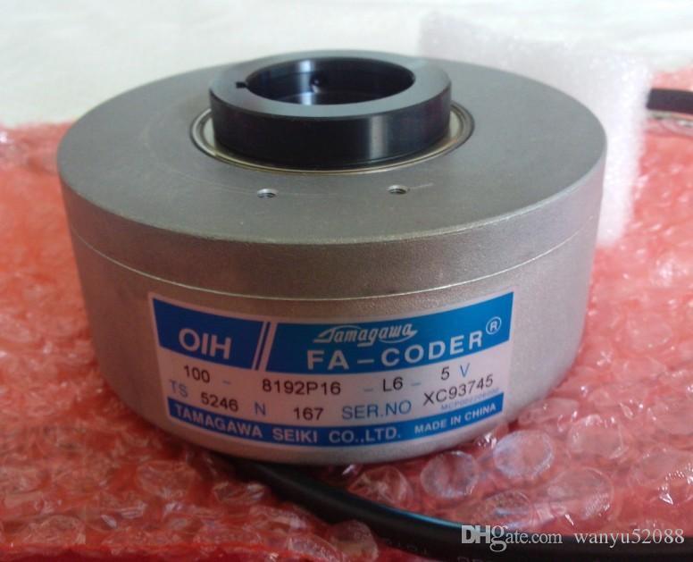 100% Testé travail parfait pour le Rotary Encoder TS5246N167 (OIH100-8192P16-L6-5V)