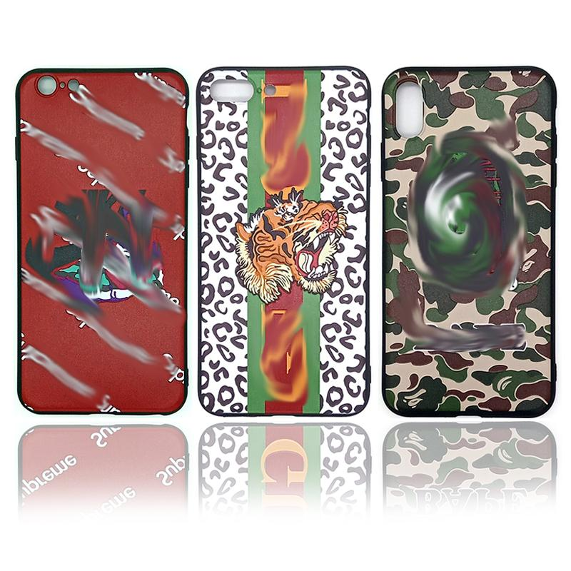 For Iphone Xr Xs Max 6 7 8 X Plus Cute cartoon animals Phone Case Luxury casual design soft Cell Phone Case