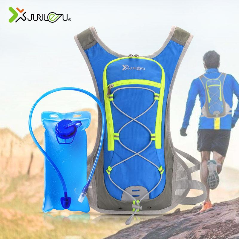 New Nylon Running Vest Backpack With 2L Water Bag Men Women Cycling Marathon Trail Running Bag Wholesale Run Sports Accessories
