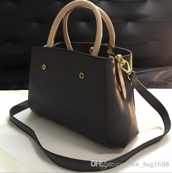 Women Montaigne Bags Designer Handbags High Quality Ladies Vintage Totes Shoulder Bag 41055 41056