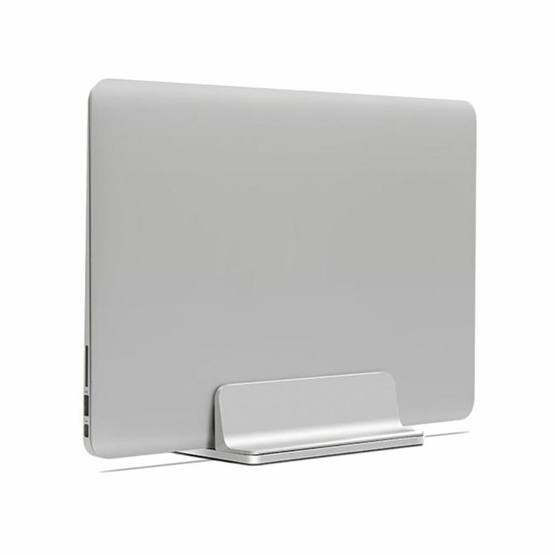 10 pz Verticale Del Computer Portatile Del Basamento regolabile in alluminio Notebook Desktop Mount eretto Supporto Del Supporto per Pro / Air accessorio