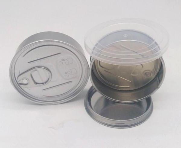 100ml 3.5gram smartbud latas estanques cheiro recipiente vazamento latas anti à prova de anel de puxar da lata com tampa de topo para a erva seca