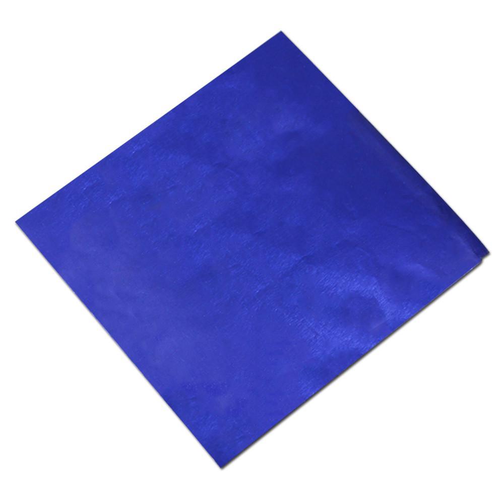10x10 cm 600 Peças Coloridas Folha De Estanho Chocolates Doces Embalagem de Papel Em Pedaço de Estanho Doces Partido Eventos Suprimentos Presentes de Casamento Papel