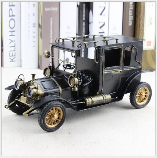 artesanías de hierro modelo retro clásico del coche de metal de Europa y América photography barra barra de café decoration41 casa