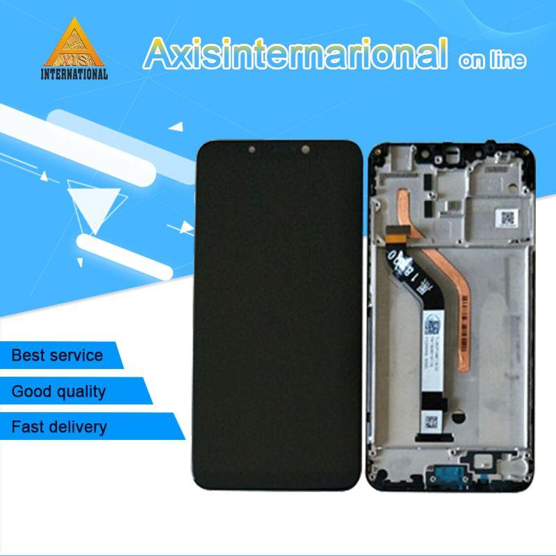 """Original Axisinternational Para 6,18"""" Xiaomi poco F1 Mi poco F1 MI Pocophone F1 tela LCD + Touch digitalizador com moldura"""