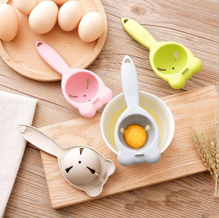 Kitchen Eggs Tool Egg Yolk Separator Food-grade Egg Divider Protein Separation Hand Eggs Gadgets Kitchen Accessories Free Shipping