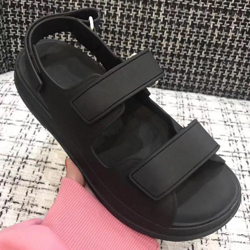 Super hot neue Sandalen, Sandalen Frauen, Designer Frauen Sandale, Velcro flache Sandale