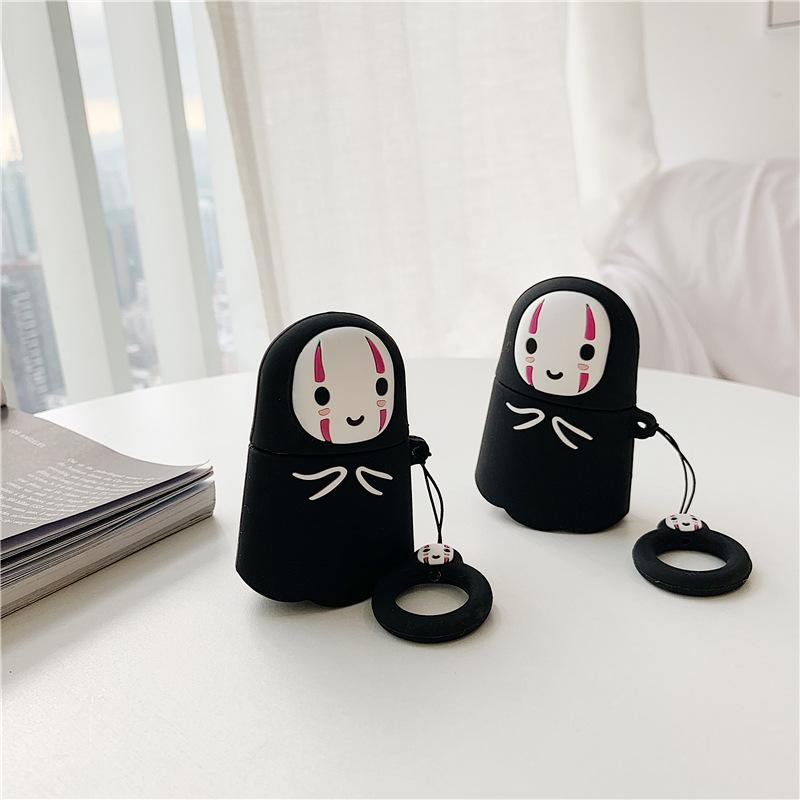 2020 For Apple Airpods Pro Faceless Man Case 3d Cute Kawaii Anime