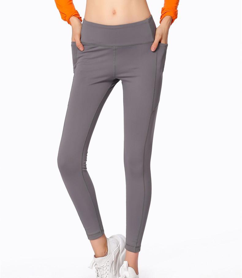 20202018 Automne et Hiver Nouveau Sport Yoga Pantalons taille haute Hip sport Pantalons Fitness Femmes Pantalons serrés élastiques