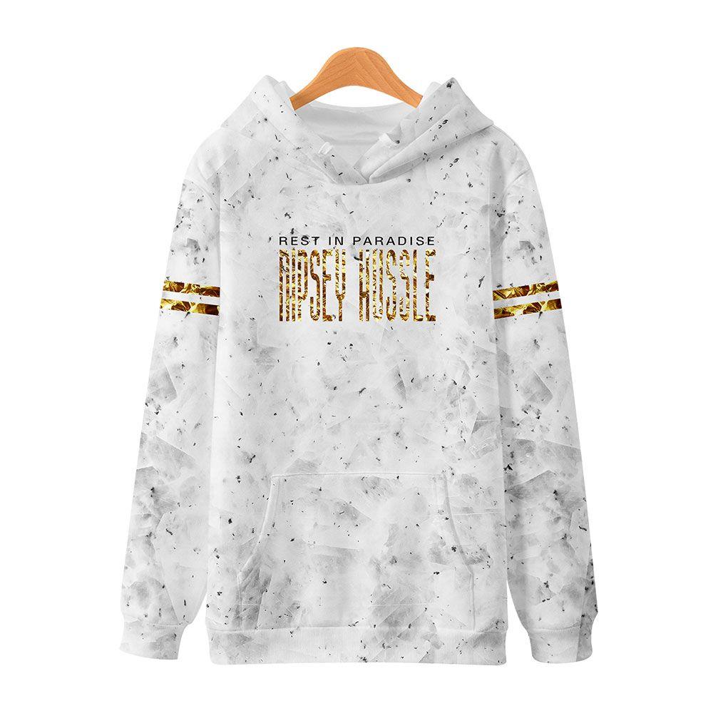 LuckyFriday Homens Hop 3D Hussle Streetwear Nipsey Moleton Hip Casual Sweatshirt Mens Harajuku Hoodies Imprimir Hoodie Plus Size Hoody Owkvc
