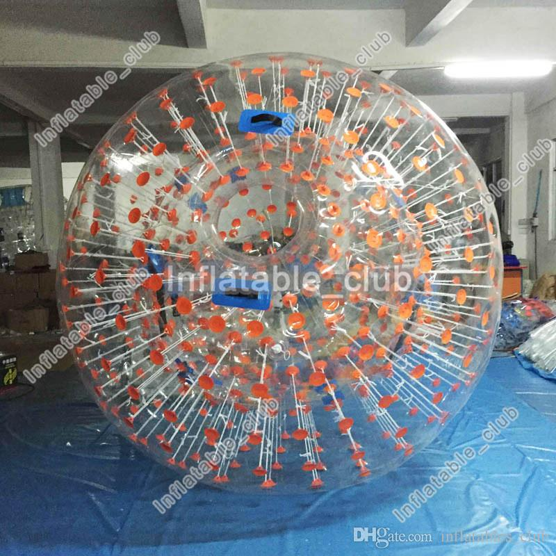 0,8 mm PVC aufblasbare Zorb Ball gute Qualität menschliche Größe Hamster ball3m Körper Zorb Ball für Kinder und Erwachsene