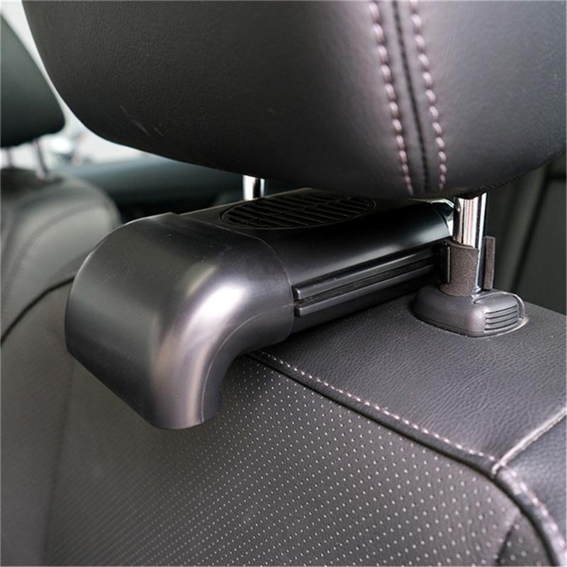 Автомобильный освежитель воздуха Многофункциональные автомобильные поставки кондиционирования вентилятора вентилятор аутлет центральный консоль USB регулирует расширение автомобиля