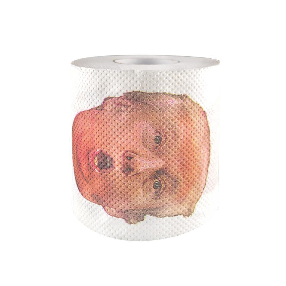 Başkan Donald Trump Rulo Kağıt Tuvalet Kağıdı Prank Gag Hediyesi Yenilik Kağıt Havlu dropshipping Doku Tutucu Dropship cny1827
