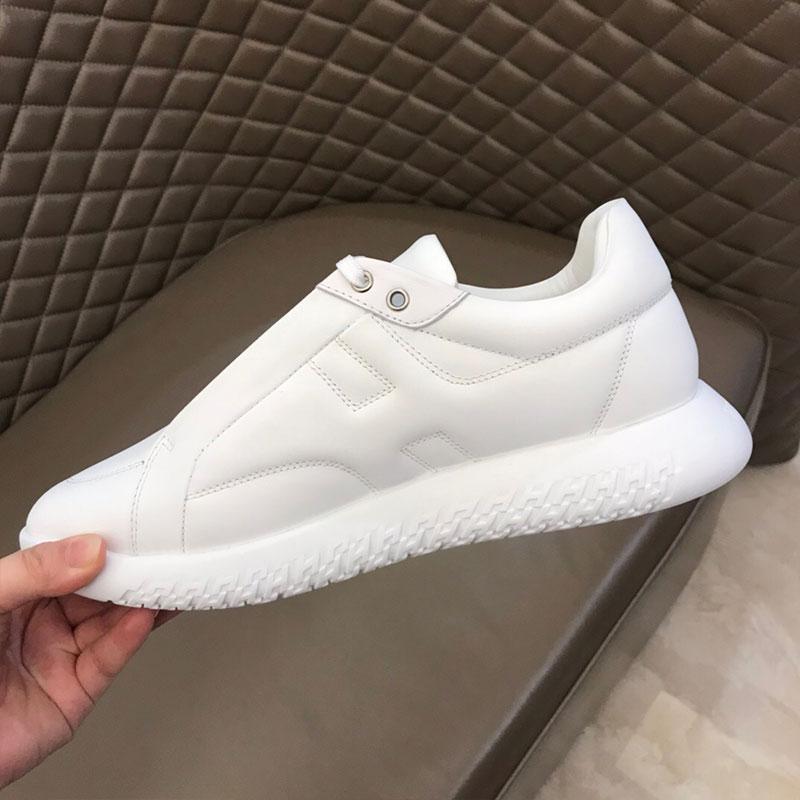 Chaussures hommes en gros de couleur unie chaussures casual mode pour hommes avec des chaussures simples designer style populaire plaque sneak design de mode en dentelle caché