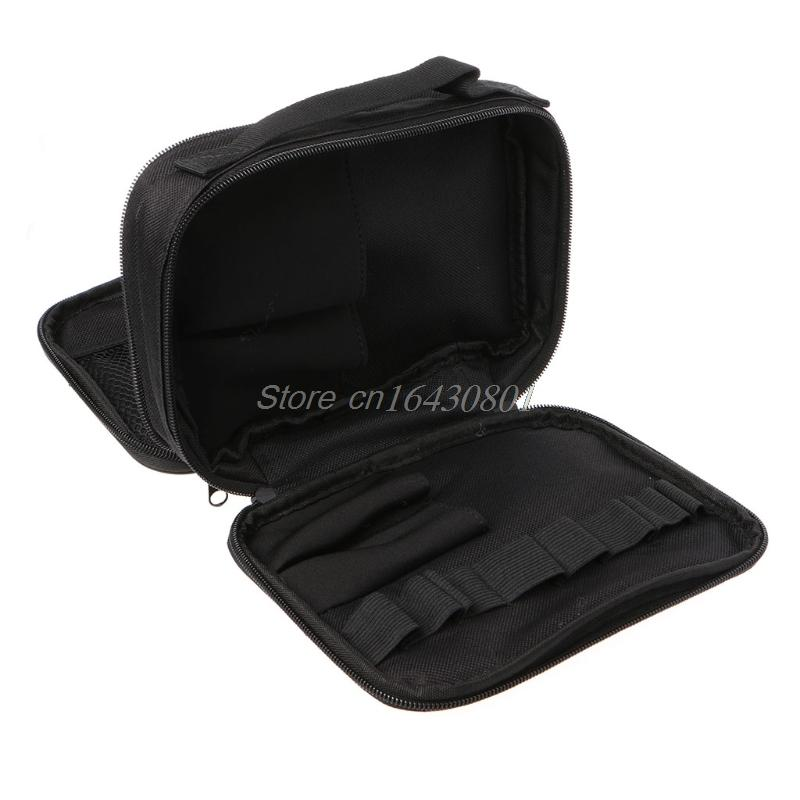 Double-deck Pocket Tool Kit Bag For Electronic Cigarette DIY Tools Carry Bag Case Pocket S08 Best Quality Whosale&DropShip Y200324