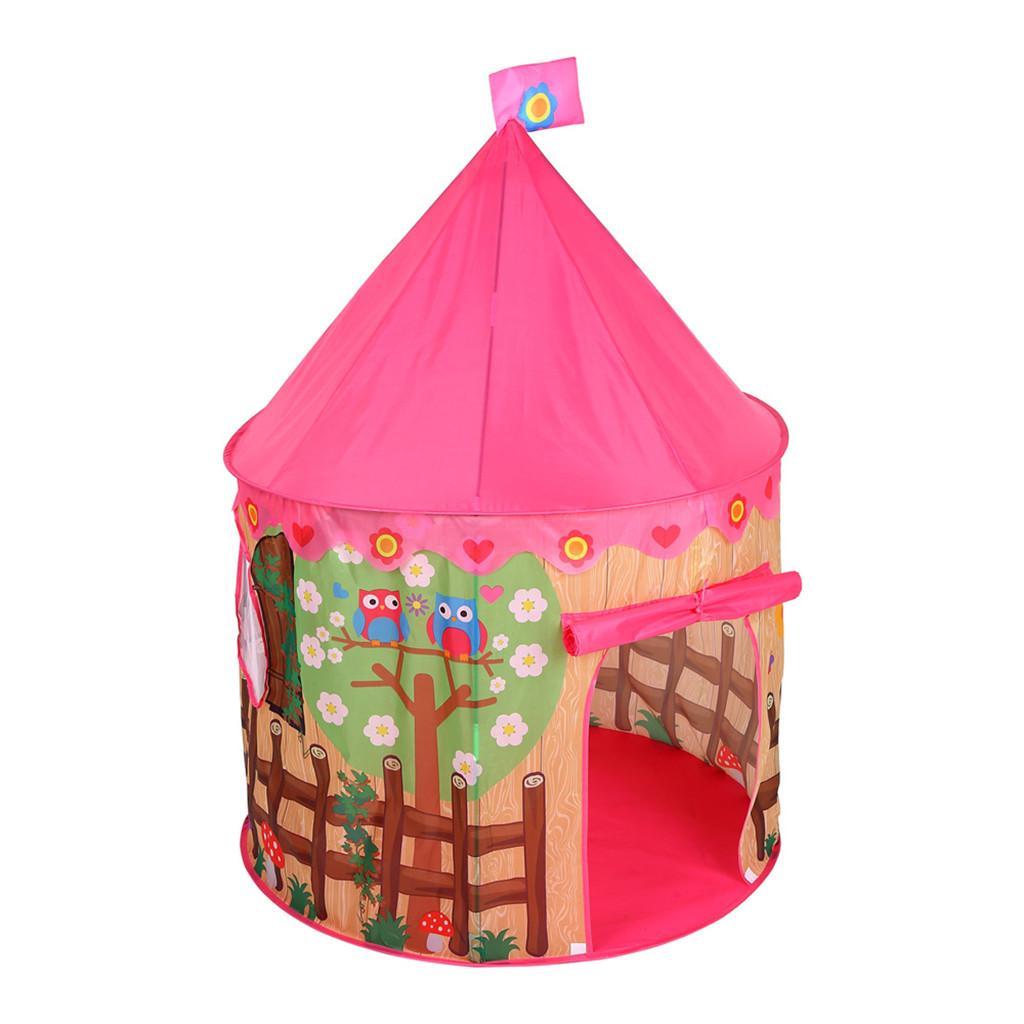 Los niños plegable impermeable surge la tienda del juego Niño Niña Rosa casa con piscina Kid camping al aire libre de la sombrilla de playa Casa del juguete
