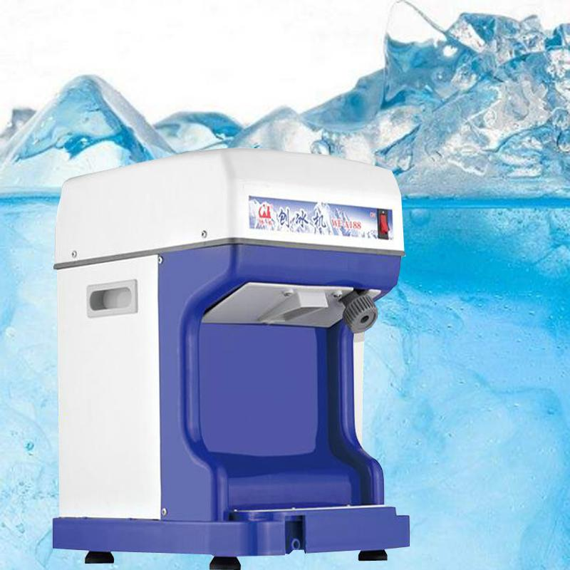 250W Electric Ice Crusher Machine Shaver Shaved Icee Snow Cone Maker Stainless Steel Blade Electric Ice Shaver Maker