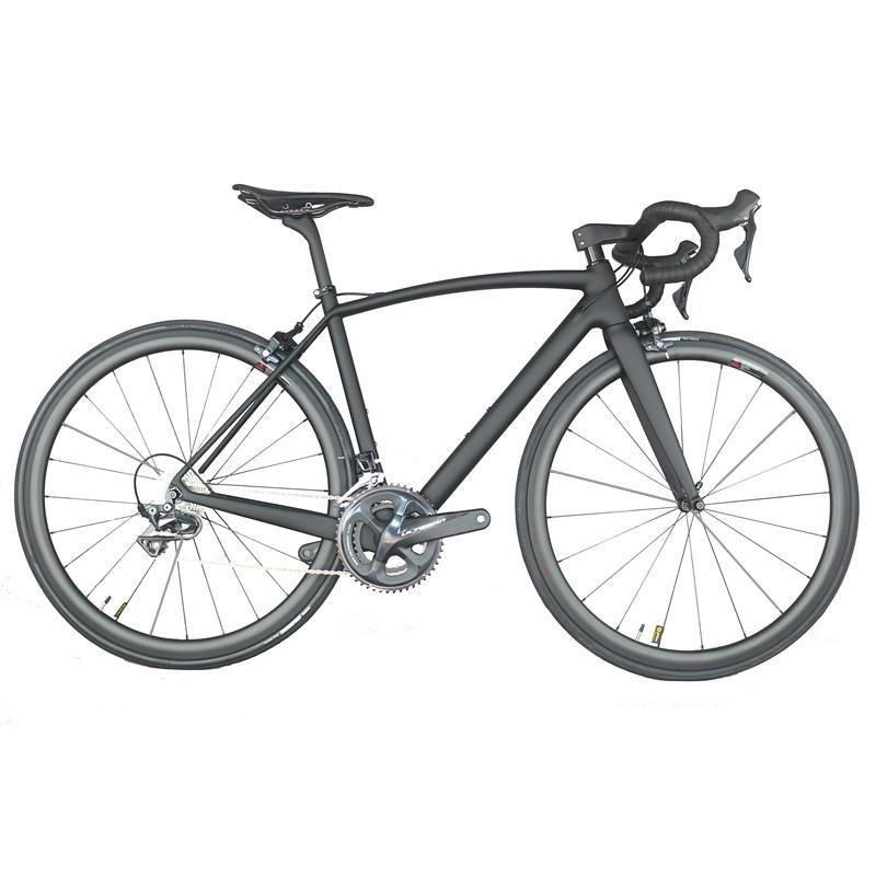 hot selling China T1000 carbon bike frame BSA ROAD carbon fiber complete bicycle fm208 has stock , super light carbon complete bike