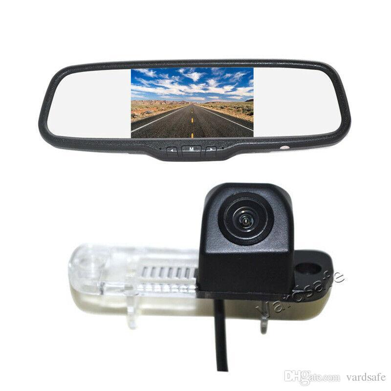 طقم مراقب كاميرا احتياطية للسيارة Mercedes Benz R ML GL Class R300 R350 500 ML350