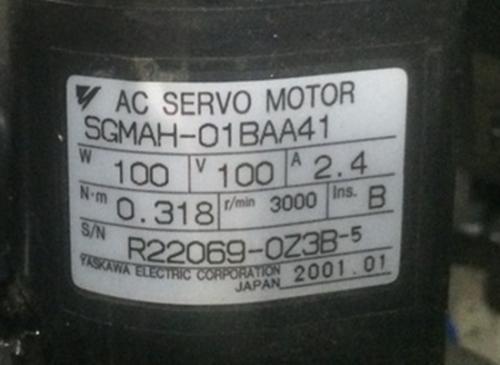 1PC NEW Yaskawa SGMAH-01BAA41 #WM06