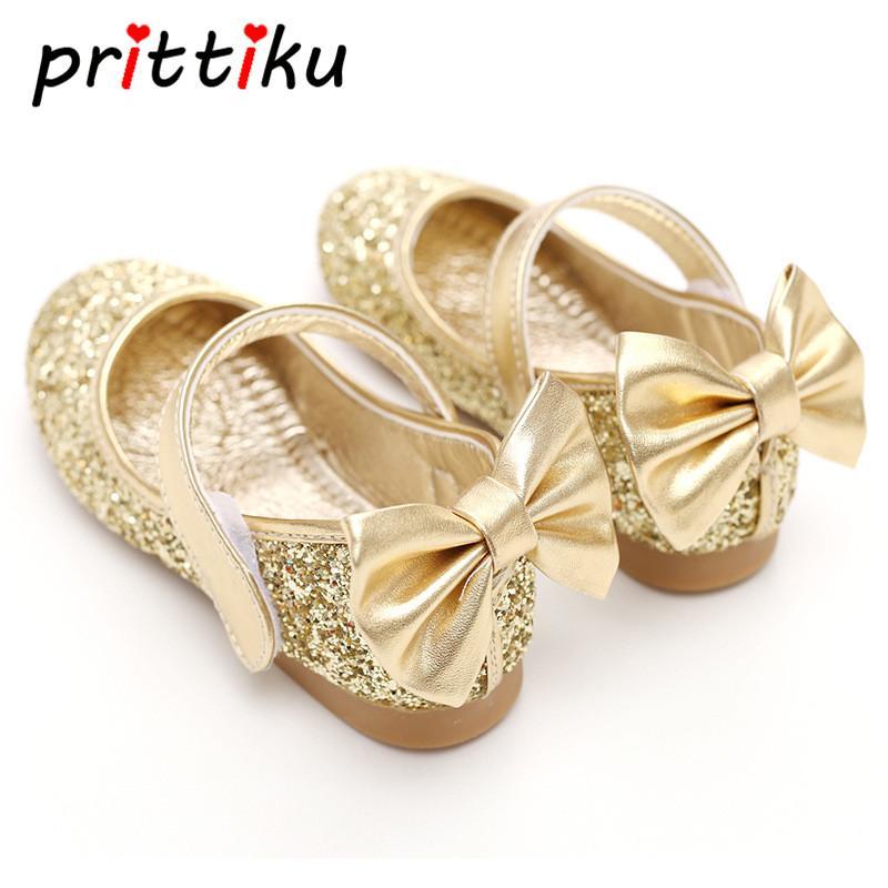 Sparkle Ballerina Child Shoes silver
