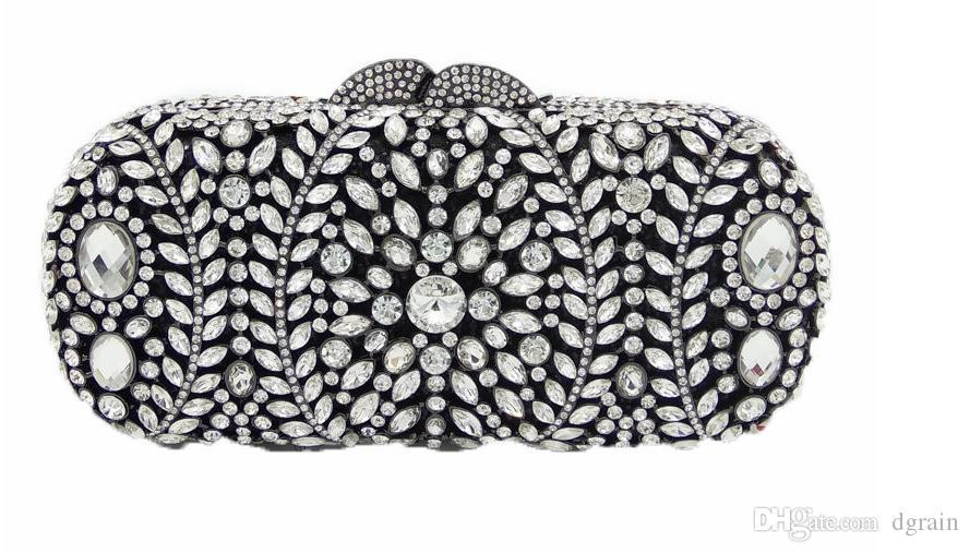 Dgrain Luxus Femme Pochette Taschen Diamanten Damen Abendtaschen Kristall Clutch Bags Dame Purse Bling Soiree Vrouwen Handtaschen