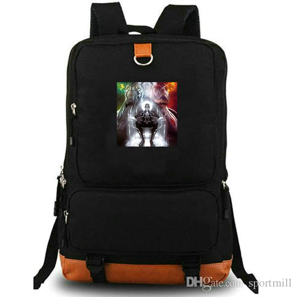 Метроновый рюкзак Super hero школьная сумка Джек Кирби фото рюкзак Холст ноутбук школьный рюкзак Открытый рюкзак Sport day pack