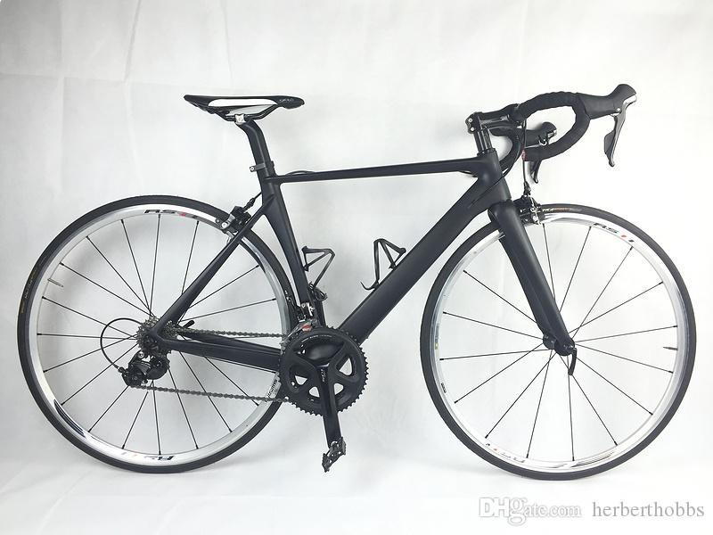 DISK Carbon Complete Road Bike Clearance DIY Bike With R8020 Groupset handlebar