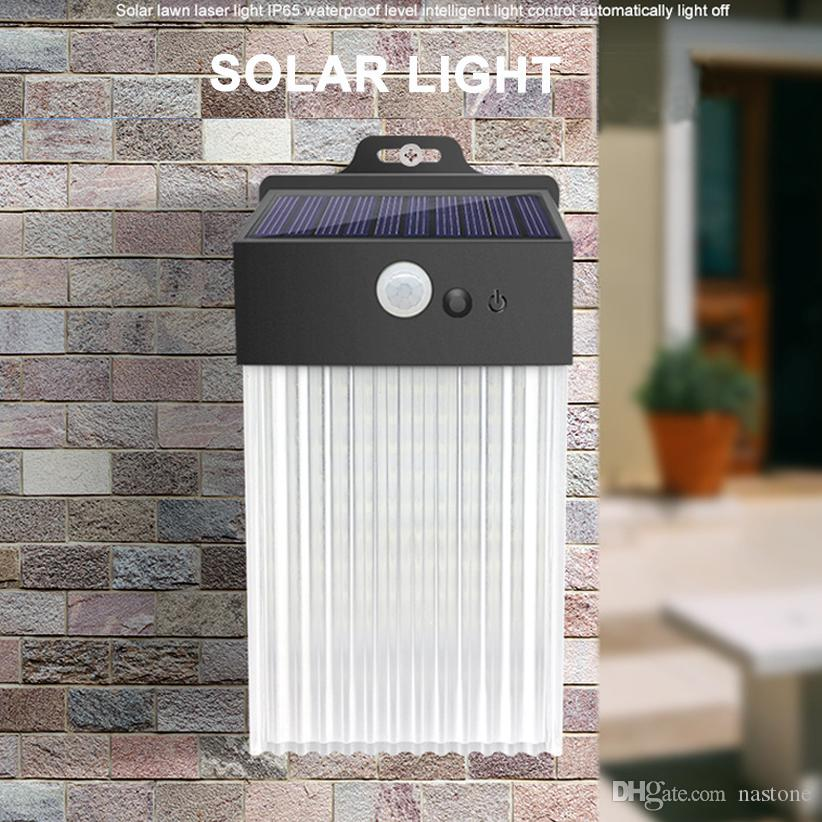 50 LED 3 modos Luz solar Lámpara solar al aire libre PIR SENSOR DE MOVIMIENTO LIGHT LIGHT IMPERSPORTE POWER POWERED POWERED Luz solar para la decoración del jardín