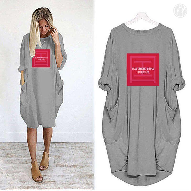Lettters Maniche stampato la breve donne progettista delle camice Gonna lunga estate di marca delle magliette allentato traspirante Miniabito lusso Lady 11 11