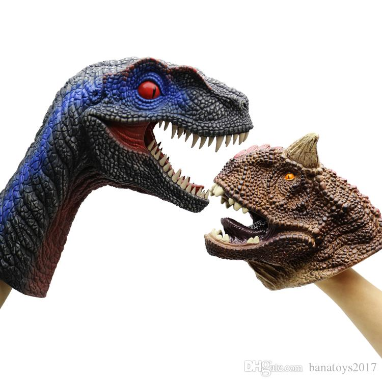Free shipping Hot Sale child toys Dinosaur hand Puppet