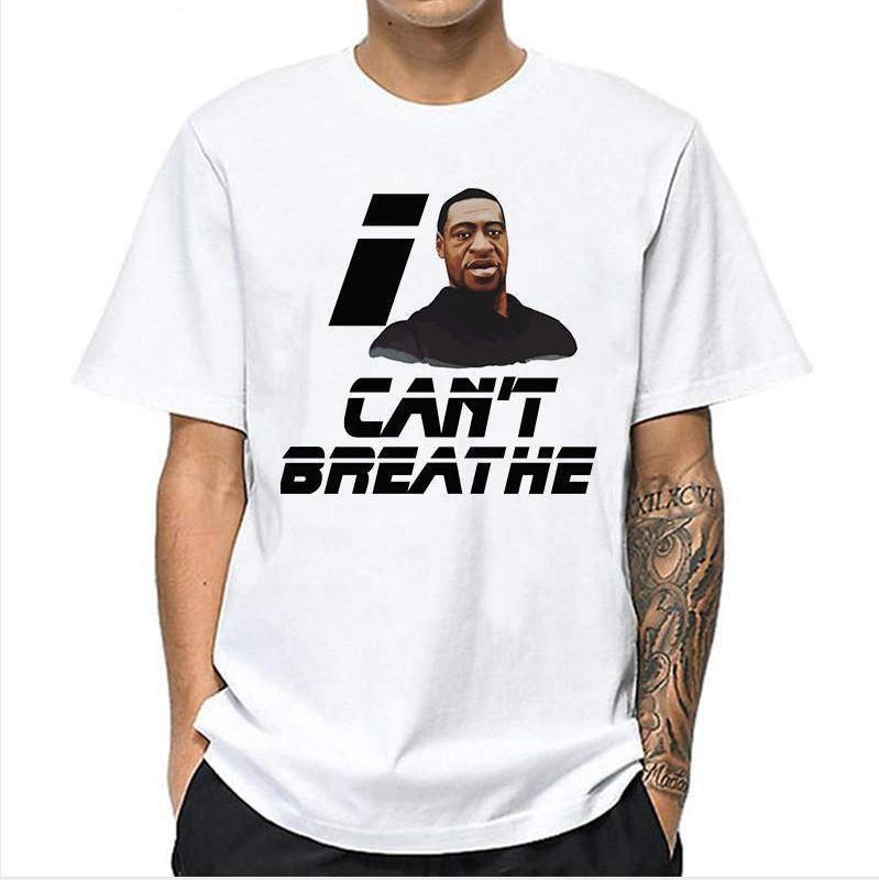 2020 Erkekler Tişörtlü Ben Moda Yaz Yeni Marka T shirt Lüks Tees Gömlek Kısa Kollu Baskılı Üst Tees2 nefes alamıyor