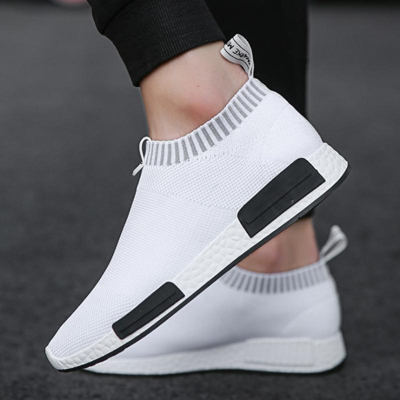 PUIMENTIUA Air Mesh Hommes Chaussures Hommes Chaussures légères Chaussures de sport confortable marche respirant Zapatillas Hombre Chaussures Casual