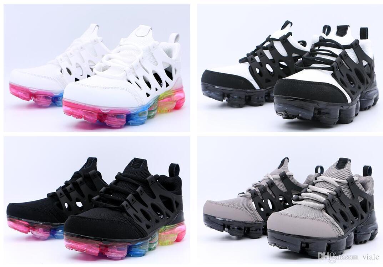 2019 de haute qualité 2019 New Air Presto Sandales Noir pas cher Coussin prestos Femmes Hommes Marque Entraîneur Chaussures Air Sandales eur