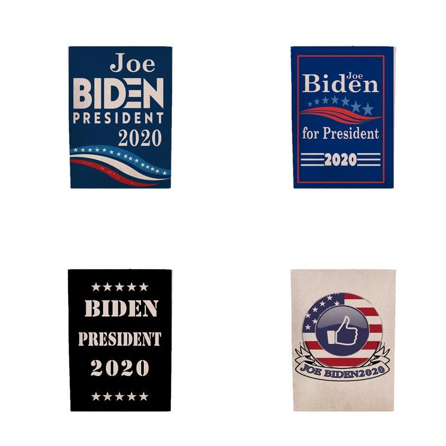 2019 45 * 30Cm Biden 2020 DRAPEAUX Donald Keep America Great De nouveau décor Polyester bannière pour le président Usa # 633