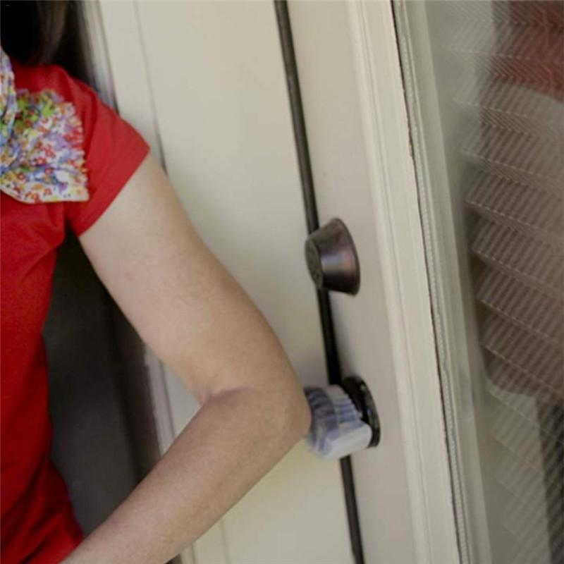 Household fluorescente Door Knob copertura antiscivolo staccabile Door Knob copertura portatile Open Door ausiliario Accessori Strumento