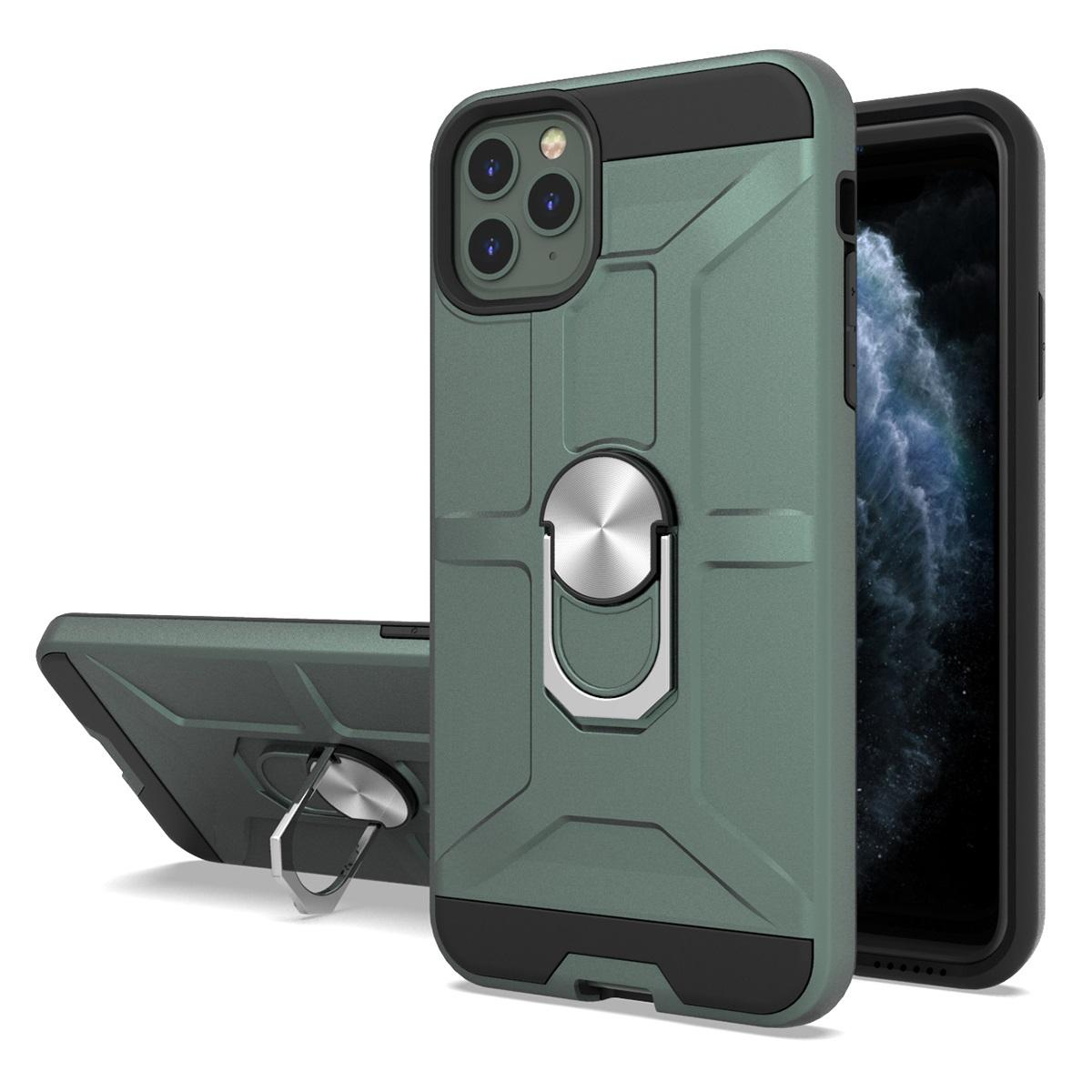 Newest Armor Case for iphone 11 pro max 360 Ring Holder Kickstand Magnetic Car Mount Hybrid Heavy Duty Case for iphone XS MAX