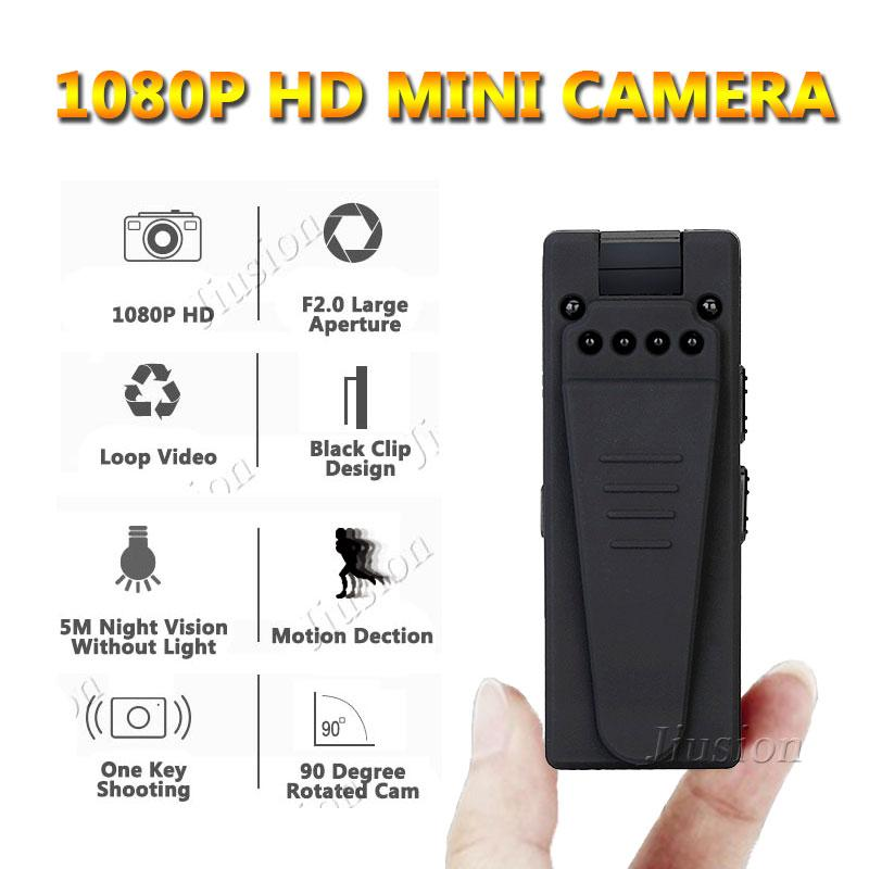 10 Hours Video Mini-Camera Consumer 1080P Full HD Webcam Night Vision Motion Sensor Detection Digital Audio Recorder DVR Cam