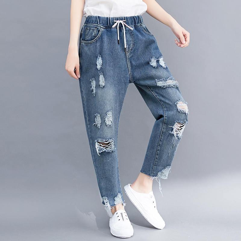 Hajnal Csucs Parna Jeans Sueltos Mujer Laurelridgepac Org
